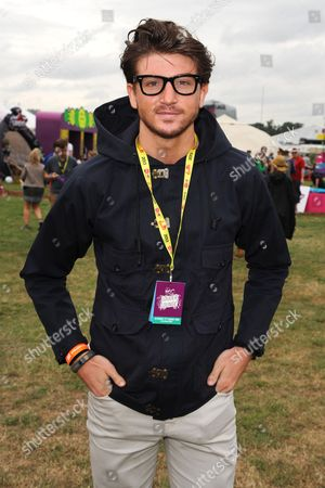 Stock Picture of Tom Kilbey in the Virgin Media Louder Lounge