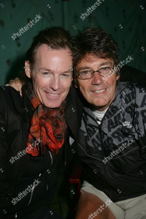 Stock Picture of Mark Shaw and Mike Read