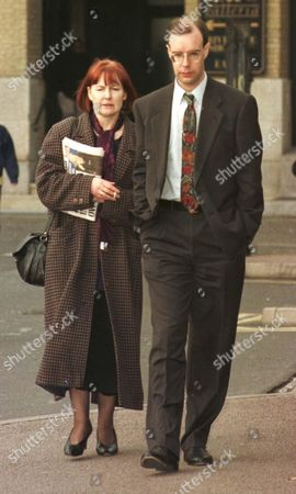 Editorial image of ANDREW CHARLTON ARRIVING AT HIGH COURT ACCUSED  OF GROPING A WOMAN ON THE TUBE, LONDON, BRITAIN - 1998