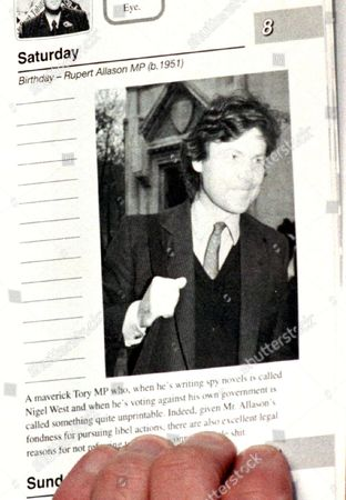 """Editorial picture of COLIN SWASH LEAVING COURT AFTER WINNING CASE AGAINST RUPERT ALLISON OVER THE """"HAVE I GOT NEWS FOR YOU"""" BOOK , LONDON, BRITAIN - 1998"""