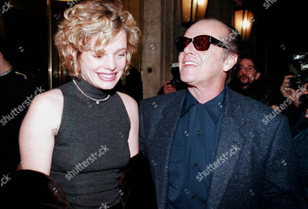 JACK NICHOLSON WITH REBECCA BROUSSARD IN ROMEY