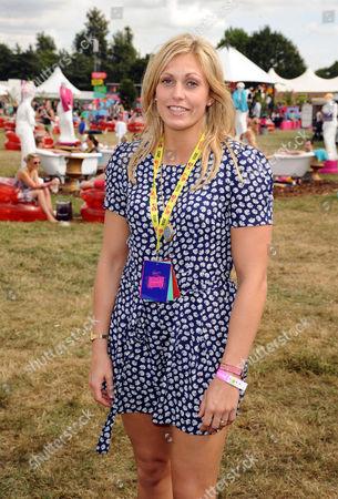 Gemma Gibbons in the Virgin Media Louder Lounge