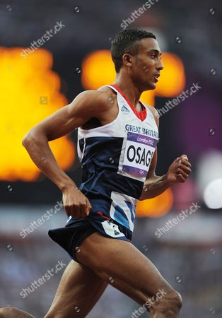 Editorial Use Only This Material Is Provided Under The Terms Of The 2012 Nopp Agreement. Mandatory Credit Must Be Observed London 2012 Olympic Games Olympic Stadium 800m Final Men Great Britain's Andrew Osagie.