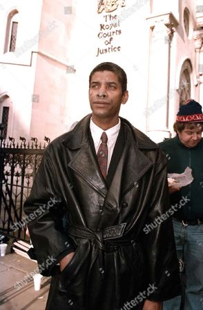Editorial photo of DONALD DOUGLAS IN HIGH COURT FOR APPEAL HEARING ABOUT HIS BROTHERS DEATH WHILE IN POLICE CUSTODY, LONDON, BRITAIN - 1998