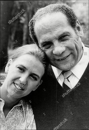 Edmundo Ros The Bandleader With Wife Barbara Smith.