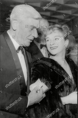 Actors Andre Morell And Joan Greenwood.