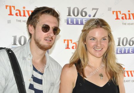 Arthur Darvill and Joanna Christie