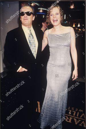Jack Nicholson and Rebecca Broussard