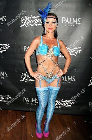 Editorial image of Midsummer Lingerie Carnival, Vegas, America - 17 Aug 2013