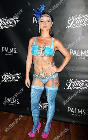 Editorial photo of Midsummer Lingerie Carnival, Vegas, America - 17 Aug 2013