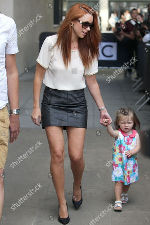 The Saturdays - Una Healy with daughter Aoife Belle Foden