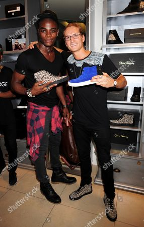 Anthony BB Kaye and Oliver Proudlock