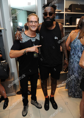 Oliver Proudlock and Mikill Pane