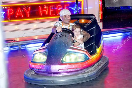 Terry Coldwell with his daughter