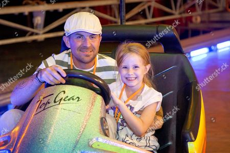 Stock Image of Terry Coldwell with his daughter