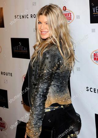 Stock Photo of Fergie Duhamel