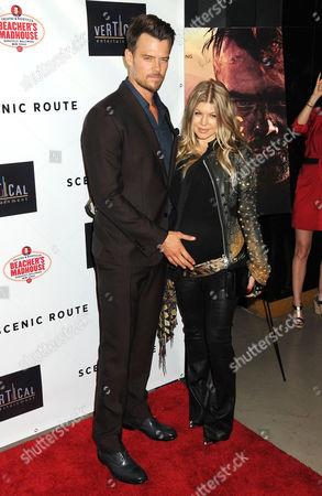 Josh Duhamel and Fergie Duhamel