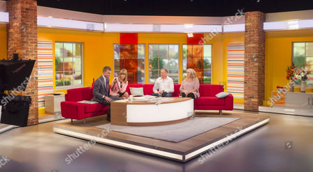 Matt Barbet and Kate Garraway with Patrick Harrison and Carole Malone