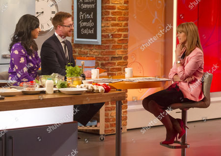Aasmah Mir and Olly Kendall with Kate Garraway