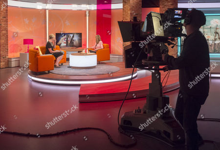 Editorial photo of 'Lorraine Live' TV Programme, London, Britain. - 21 Aug 2013