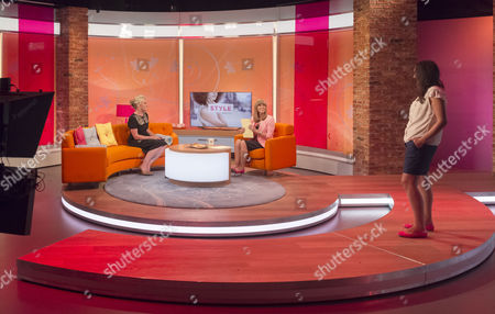 Stock Picture of Tabitha Somerset Webb and Kate Garraway