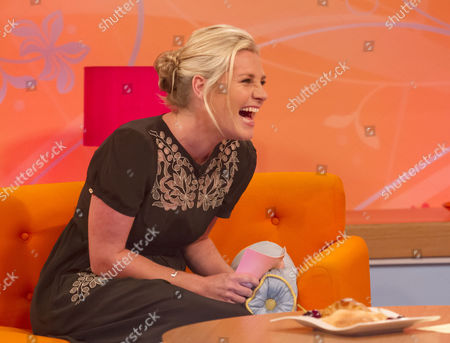 Editorial picture of 'Lorraine Live' TV Programme, London, Britain. - 21 Aug 2013