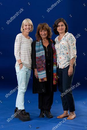 Authors Kate Mosse OBE, Lisa Appignanesi and Kamila Shamsie