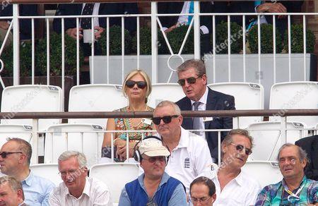 Roy Hodgson and his wife Sheila Hodgson