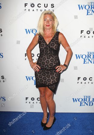 Editorial image of 'The World's End' film premiere, Los Angeles, America - 21 Aug 2013