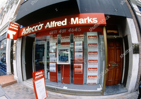 Adecco, Alfred Marks Recruiting Agency.