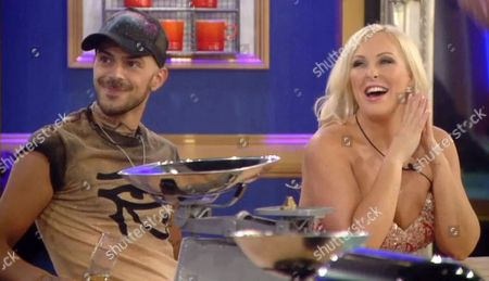 Abz Love and Danielle Marr