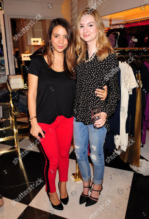 Editorial image of Juicy Couture Shopping Event, London, Britain - 22 Aug 2013