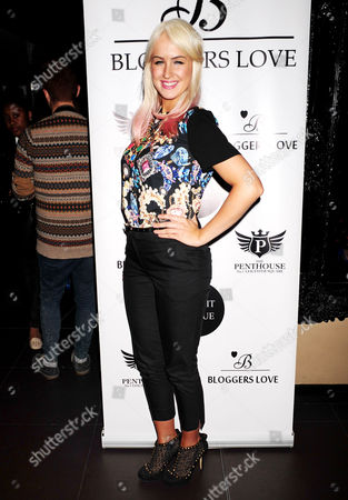 Editorial picture of The Bloggers Love Collection Fashion Show at The Penthouse, London, Britain - 22 Aug 2013
