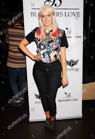 Editorial photo of The Bloggers Love Collection Fashion Show at The Penthouse, London, Britain - 22 Aug 2013
