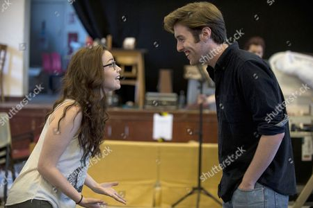 Denis Grindel, who plays Jimmy Rabbitte with co-star Sarah O'Connor who plays Imelda Quirk