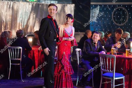 John Heffernan as Ashley, Niky Wardley as Heather and Graeme Hawley as Martin.