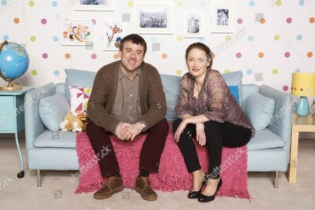 Graeme Hawley as Martin and Zoe Telford as Michelle