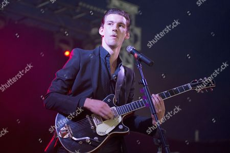 Stock Photo of Willy Moon performing in concert on Day 2
