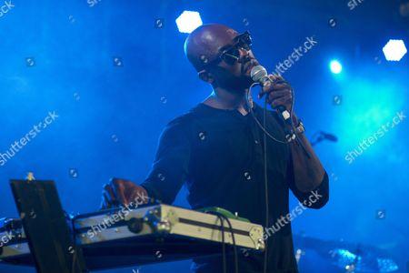 Obaro Ejimiwe, performing in concert on Day 2