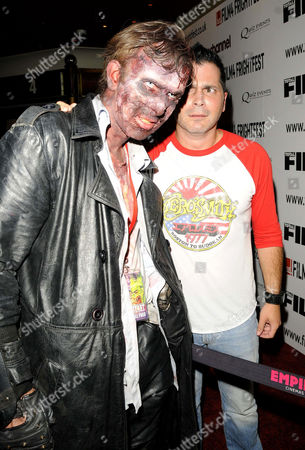 Horror film fan and Adam Green