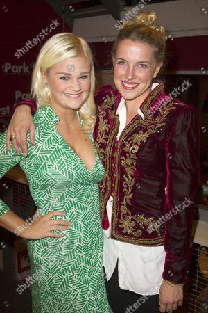 Lucy May Barker (Cherry Buck) and Claire Cartwright (Kitty Stratton)