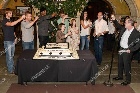Renee Felice Smith, Daniela Ruah, LL Cool J, David Stapf, Linda Hunt, Chris O Donnell and Miguel Ferrer