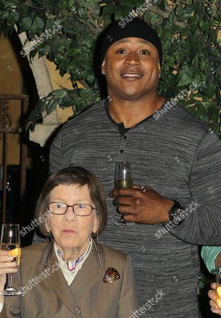 LL Cool J and Linda Hunt