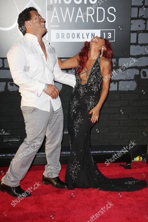 Editorial image of MTV Video Music Awards Arrivals, New York, America - 25 Aug 2013