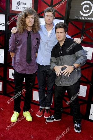 Blake Anderson, Anders Holm & Adam Devine
