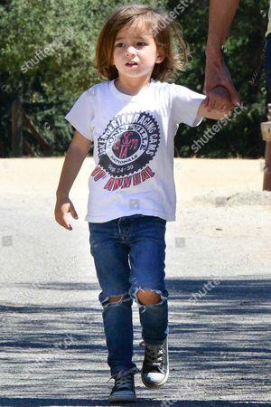 Johnny Knoxville's son Rocko Akira Clapp