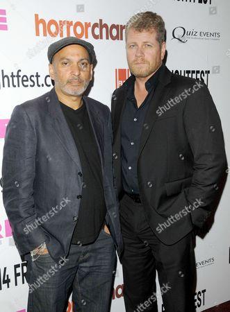 Suri Krishnamma & Michael Cudlitz