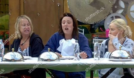 Carol McGiffin, Charlotte Crosby and Danielle Marr