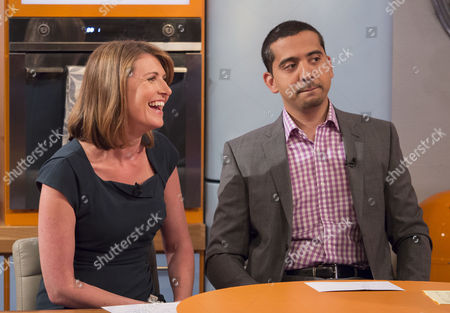 Jayne Secker and Medhi Hasan