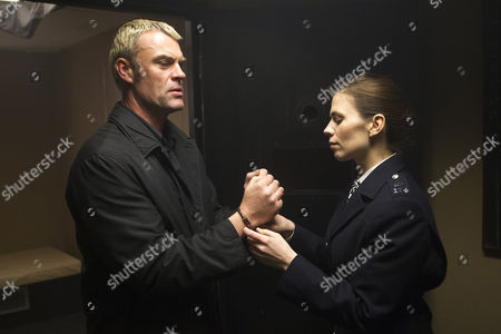 Julian Lewis Jones as Mike Holland. And Hayley Atwell as Denise Woods